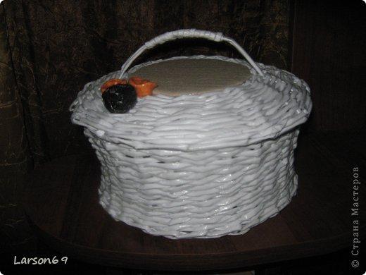Белая плетенка фото 2