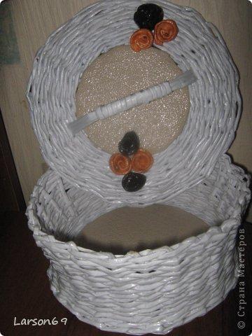 Белая плетенка фото 3