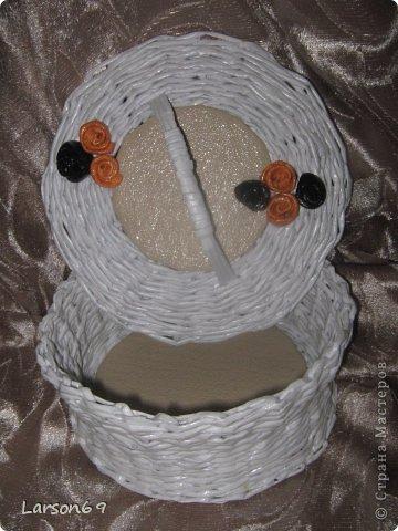Белая плетенка фото 4