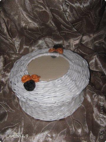 Белая плетенка фото 5