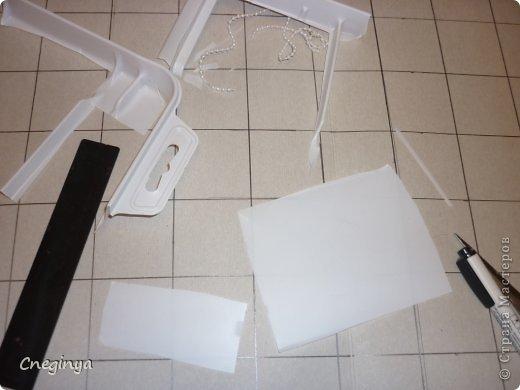 """Приспособление для закладывания складок можно купить, а можно сделать самостоятельно. Вначале я кратко опишу процесс изготовления """"приспособления"""", а потом подробно опишу способ работы. фото 3"""