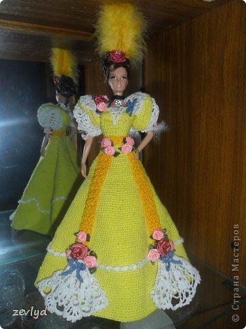 Платье для куклы Барби.  фото 11