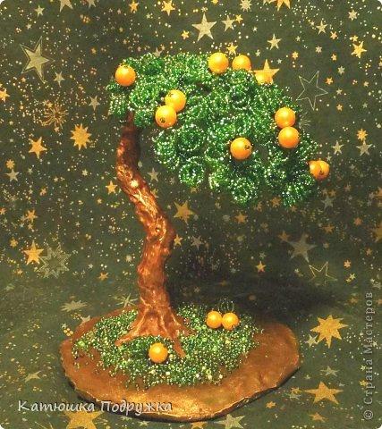 Сотворилось вот такое апельсиновое деревце в подарок пожилому человеку на юбилей. На Востоке оно символизирует здоровье и долголетие. Дерево, хоть и пожившее немалые годы, по-прежнему приносит яркие и сочные плоды. фото 2