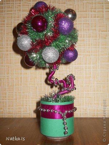 Даже не знаю почему, но у меня родилось новогоднее счастье! Создалось сразу четыре деревца. Можно сказать четыре стихии... фото 4