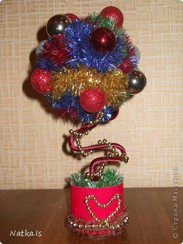 Даже не знаю почему, но у меня родилось новогоднее счастье! Создалось сразу четыре деревца. Можно сказать четыре стихии... фото 5