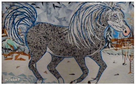 Сказочная, задумчивая лошадь...