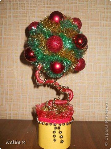 Даже не знаю почему, но у меня родилось новогоднее счастье! Создалось сразу четыре деревца. Можно сказать четыре стихии... фото 3