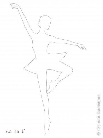 Мастер-класс Новый год Вырезание Снежинки-балеринки Бумага фото 8