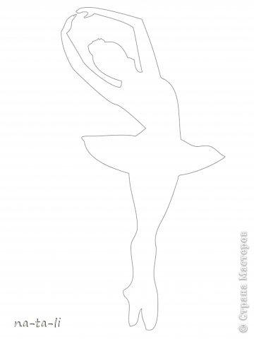 Мастер-класс Новый год Вырезание Снежинки-балеринки Бумага фото 7