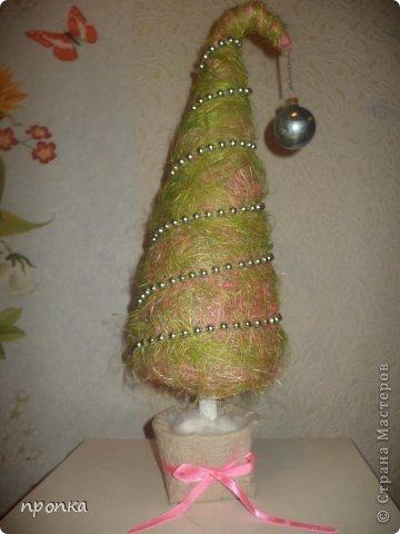 елка из сизали