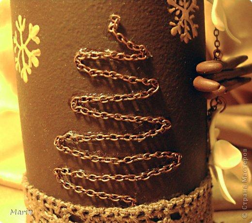 Моя любимица - шоколадно-ванильная бутылочка! Новый год - это же куча сладостей! Вот поэтому такую смастерила))) фото 5
