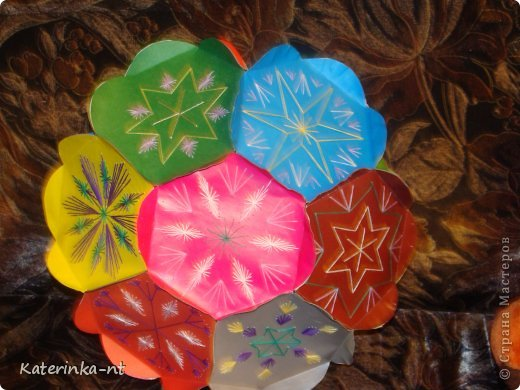 Звезда-шар сделана по материалам сайта фото 2