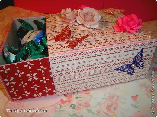 К предстоящим праздникам готовлюсь основательно.Особенно нравятся коробочки.Их же можно чем угодно заполнять!!! фото 4