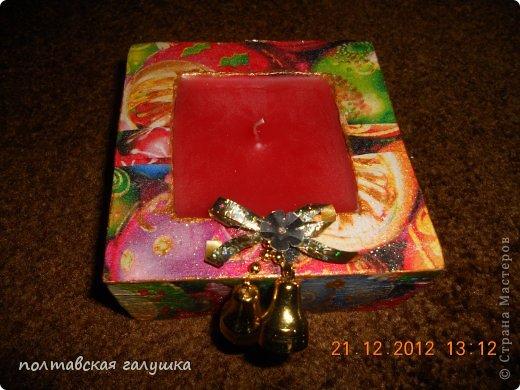 Скоро Новый год, хочется всех порадовать , поэтому несколько вечеров посвятила приготовлению подарков для своих близких. фото 5