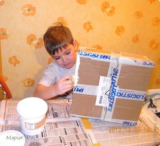 Заразилась идеей Наташи https://stranamasterov.ru/node/470689?c=favusers , и решила создать свой почтовый ящик в школу сыну. получилось конечно жалкое подобие :))) но детям понравилось :) делали вместе с сыном. фото 4