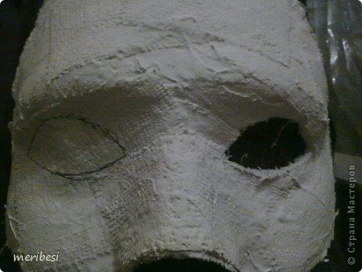 Мастер-класс Поделка изделие Новый год Аппликация из скрученных жгутиков Лепка Маскарадная маска  к празднику успеем мини мк   Гипс Клей Краска Салфетки фото 17