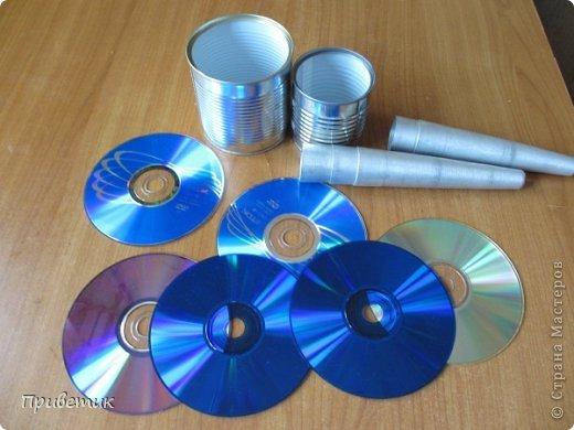 Покажу вам мои эксперименты с компьютерными дисками. фото 2