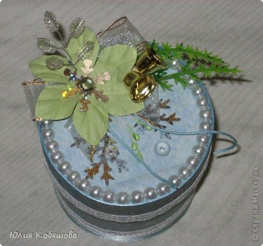 Еще одна моя поделочка к Новому году - коробочка для конфет.  фото 3