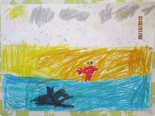 Вот такие чудесные работы делает мой сыночек. Хочу поделиться информацией с мамочками по этим наборам для творчества... Очень Тимошке понравились такие аппликации. Делал абсолютно всё сам ( 4г.10 мес.)!!! Только требовалось иногда подсказывать, в каком порядке клеить... фото 10