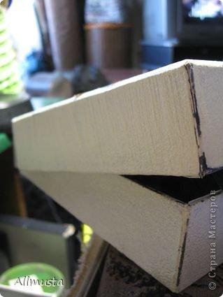 Здравствуйте, дорогие мастера! выношу на ваш суд шкатулку. Попыталась ее сделать из обычной картонной коробки. фото 3