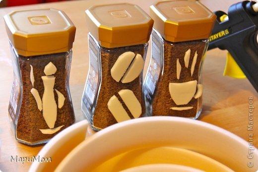Вот такие баночки у нас получились) Их в последствии можно использовать для хранения сыпучих продуктов...например, того-же кофе. фото 3
