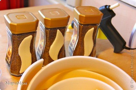Вот такие баночки у нас получились) Их в последствии можно использовать для хранения сыпучих продуктов...например, того-же кофе. фото 4