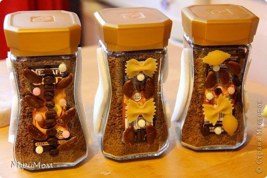 Вот такие баночки у нас получились) Их в последствии можно использовать для хранения сыпучих продуктов...например, того-же кофе. фото 6