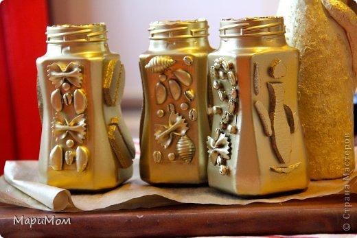 Вот такие баночки у нас получились) Их в последствии можно использовать для хранения сыпучих продуктов...например, того-же кофе. фото 7