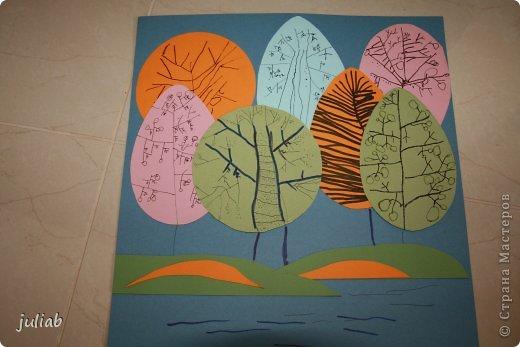 Дочка рисует много цветными карандашами и гелевыми ручками.В этой работе добавили цветную тушь.Феечки.. фото 3