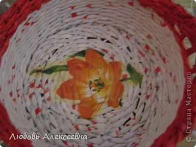 Всем доброго времени суток! С наступающим  НОВЫМ ГОДОМ! Моя корзиночка с розами! фото 3