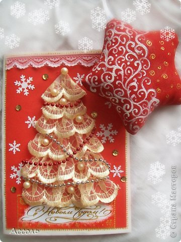 Добрый день , дорогие соседи! Совсем скоро новый год... Мы все уже с нетерпением ждем заветной ночи, желанных подарков и приятных встреч. Сегодня хочу показать Вам несколько мелочей, сделанных своими руками, которые (я надеюсь) порадуют моих друзей на праздник)) Этот сувенирчик я приготовила для одной супер-мамы... Как большинство из нас, она творит по ночам... поэтому кофеёк тут, кажется,  будет в тему)) фото 6