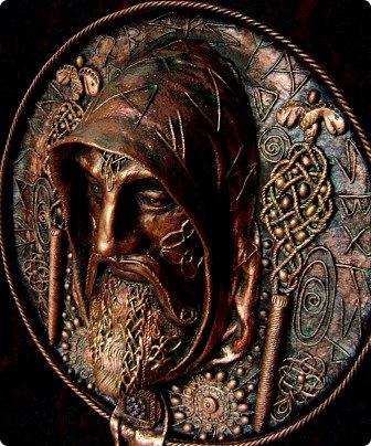 Поделка изделие Бумагопластика Мерлин Пейп-арт Салфетки фото 3