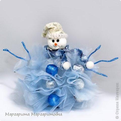 Кукла, карета и снеговик) фото 4