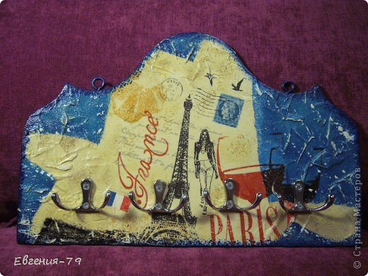 """Ключница """"Париж"""" фото 1"""