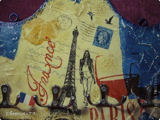 """Ключница """"Париж"""" фото 2"""