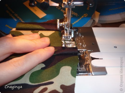 """Приспособление для закладывания складок можно купить, а можно сделать самостоятельно. Вначале я кратко опишу процесс изготовления """"приспособления"""", а потом подробно опишу способ работы. фото 19"""