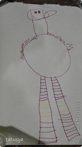 Это кролик его моя дочь только раскрасила.На так называемых уроках рисования.Где за нее все рисуют,а она раскрашивает!!!! фото 2
