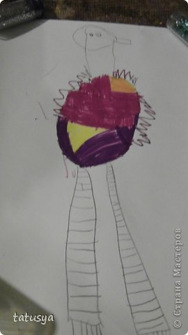 Это кролик его моя дочь только раскрасила.На так называемых уроках рисования.Где за нее все рисуют,а она раскрашивает!!!! фото 4