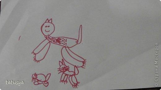 Это кролик его моя дочь только раскрасила.На так называемых уроках рисования.Где за нее все рисуют,а она раскрашивает!!!! фото 8