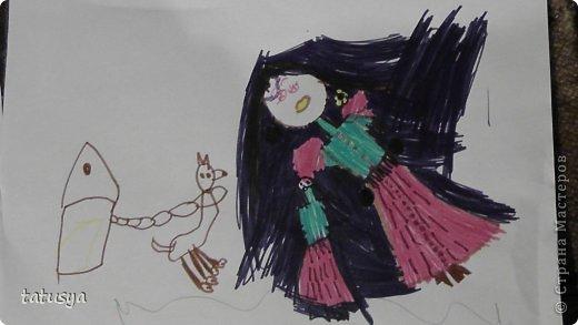 Это кролик его моя дочь только раскрасила.На так называемых уроках рисования.Где за нее все рисуют,а она раскрашивает!!!! фото 10