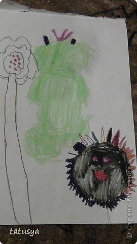Это кролик его моя дочь только раскрасила.На так называемых уроках рисования.Где за нее все рисуют,а она раскрашивает!!!! фото 11