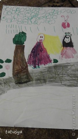 Это кролик его моя дочь только раскрасила.На так называемых уроках рисования.Где за нее все рисуют,а она раскрашивает!!!! фото 12