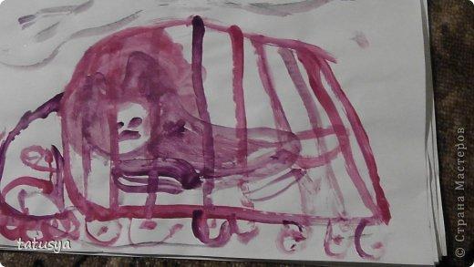 Это кролик его моя дочь только раскрасила.На так называемых уроках рисования.Где за нее все рисуют,а она раскрашивает!!!! фото 16