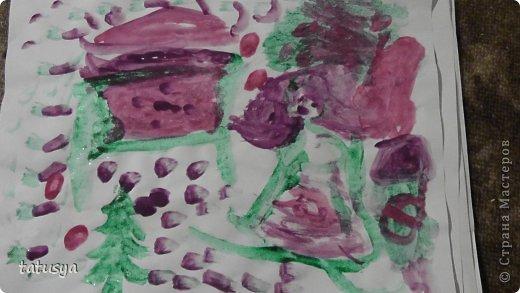 Это кролик его моя дочь только раскрасила.На так называемых уроках рисования.Где за нее все рисуют,а она раскрашивает!!!! фото 17