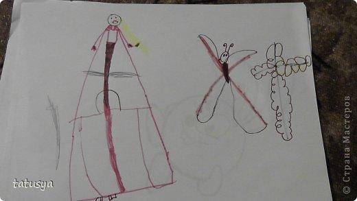 Фея Фиалка и бабочка фото 1