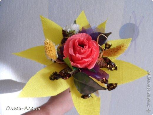 Увидела миники, загорелась. Сначала сделала с розой.  Потом решила поэкспериментировать в другом цвете. Вот что получилось. Это будут небольшие презенты на Новый год. фото 2