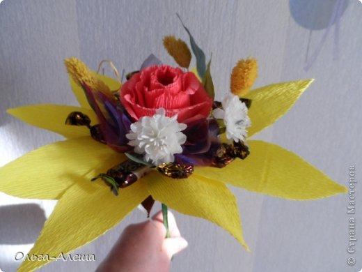 Увидела миники, загорелась. Сначала сделала с розой.  Потом решила поэкспериментировать в другом цвете. Вот что получилось. Это будут небольшие презенты на Новый год. фото 4