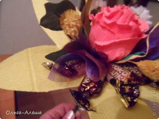 Увидела миники, загорелась. Сначала сделала с розой.  Потом решила поэкспериментировать в другом цвете. Вот что получилось. Это будут небольшие презенты на Новый год. фото 7