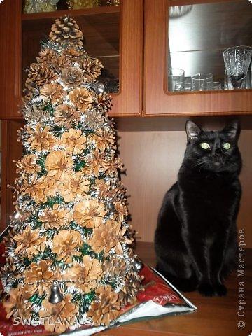 Новогоднюю ёлочку отнесла на работу, теперь она у меня украшает рабочий стол фото 5