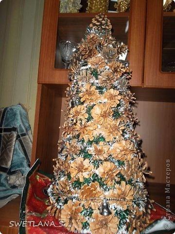 Новогоднюю ёлочку отнесла на работу, теперь она у меня украшает рабочий стол фото 3